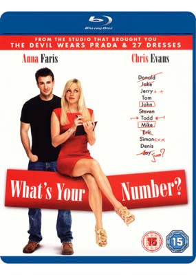 What's Your   Number? (Blu-ray) (BD) - Klik her for at se billedet i stor st�rrelse.
