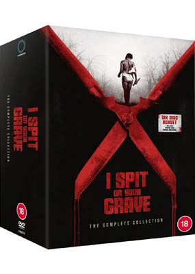 I Spit on Your Grave: The Complete Collection (6-disc) (DVD) - Klik her for at se billedet i stor størrelse.
