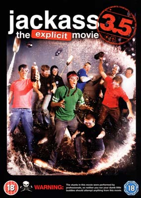 Jackass 3.5: The Explicit   Movie  (DVD) - Klik her for at se billedet i stor st�rrelse.