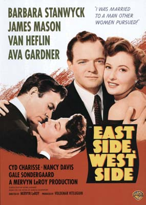 East Side, West Side  (DVD) - Klik her for at se billedet i stor st�rrelse.
