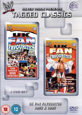 1993 UK Fan Favourites/1995 UK Fan Favourites  (DVD) - Klik her for at se billedet i stor størrelse.