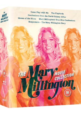 Mary Millington Movie Collection, The (Blu-ray) (BD) - Klik her for at se billedet i stor størrelse.