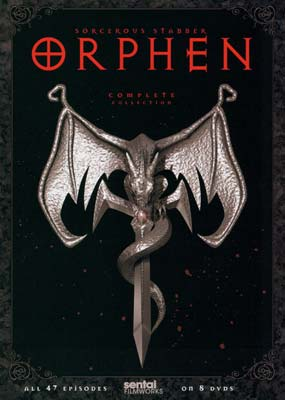 Orphen: Complete Collection (8-disc) (DVD) - Klik her for at se billedet i stor st�rrelse.