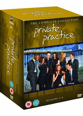 Private Practice: The Complete Series (Gift Set) (DVD) - Klik her for at se billedet i stor størrelse.
