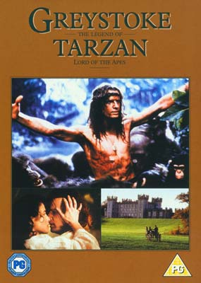 Greystoke: The Legend of Tarzan, Lord of the Apes  (DVD) - Klik her for at se billedet i stor størrelse.