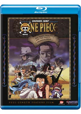 One Piece: The Desert Princess and the Pirates (Blu-ray) (BD) - Klik her for at se billedet i stor st�rrelse.
