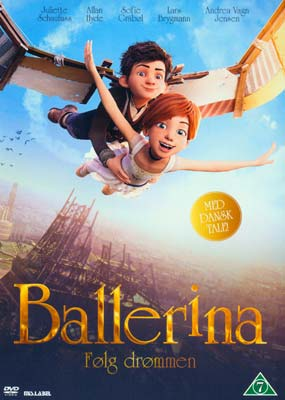 Ballerina  (Animation)  (DVD) - Klik her for at se billedet i stor størrelse.