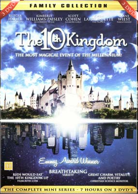10th Kingdom, The (3-disc) (DVD) - Klik her for at se billedet i stor størrelse.