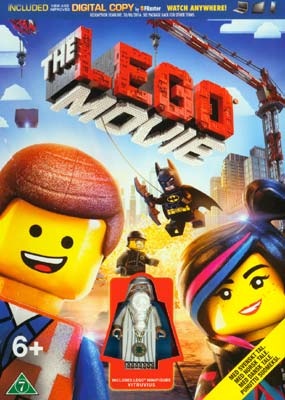 Lego Movie,  The (with Action Figure) (DVD) - Klik her for at se billedet i stor størrelse.