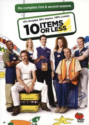 10 Items or Less: Season 1 & 2 (2-disc) (DVD) - Klik her for at se billedet i stor st�rrelse.