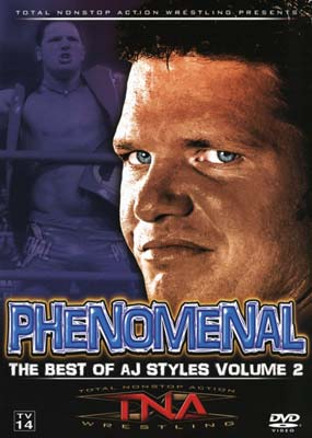 TNA Wrestling: Phenomenal - Best of AJ Styles #2  (DVD) - Klik her for at se billedet i stor st�rrelse.