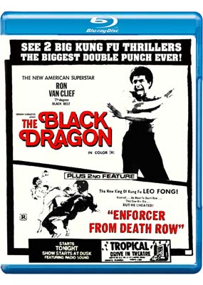 Black Dragon, The / Enforcer from Death Row (Blu-ray) (BD) - Klik her for at se billedet i stor størrelse.