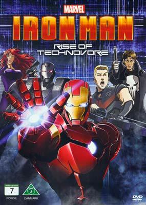 Iron Man: Rise of Technovore   (DVD) - Klik her for at se billedet i stor størrelse.