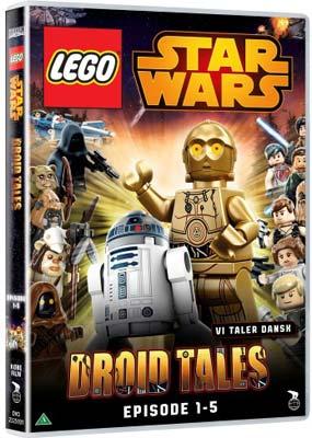 LEGO Star Wars: Droid Tales, Episode  1-5  (DVD) - Klik her for at se billedet i stor størrelse.