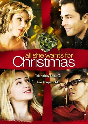 All She Wants for Christmas  (DVD) - Klik her for at se billedet i stor størrelse.