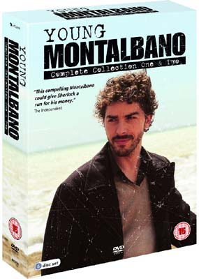 Young Montalbano, The:  Collections 1 & 2 (6-disc) (DVD) - Klik her for at se billedet i stor størrelse.