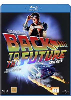 Back to the    Future: 25th   Anniversary  Trilogy (Blu-ray) (BD) - Klik her for at se billedet i stor st�rrelse.