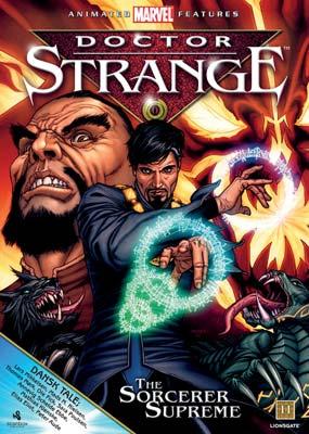 Doctor Strange: The Sorcerer    Supreme  (DVD) - Klik her for at se billedet i stor størrelse.