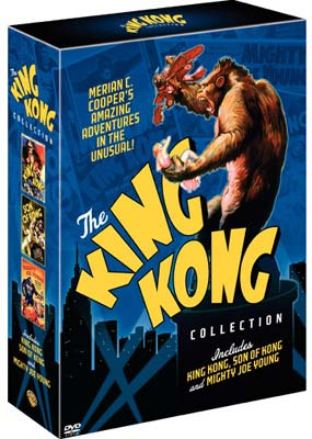 King Kong Collection, The (3 film) (DVD) - Klik her for at se billedet i stor st�rrelse.