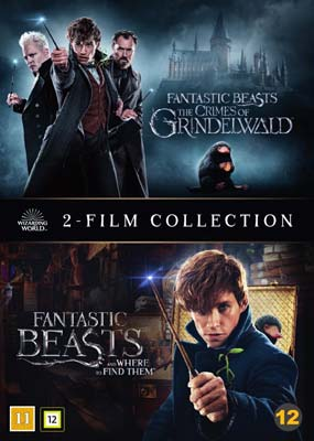 Fantastic Beasts: 2-Film Collection  (DVD) - Klik her for at se billedet i stor størrelse.