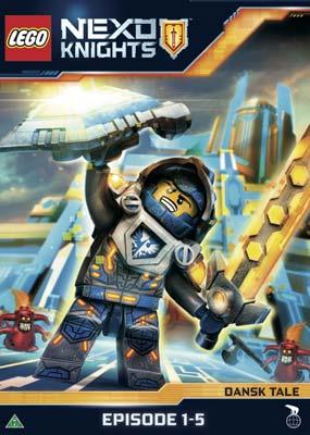 LEGO Nexo Knights: Episode  1-5  (DVD) - Klik her for at se billedet i stor størrelse.