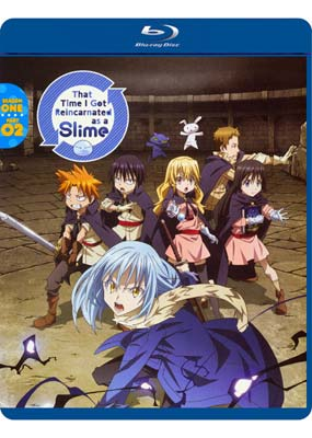 That Time I Got Reincarnated as a Slime: Season 1, Part 02 (Blu-ray & DVD) (BD) - Klik her for at se billedet i stor størrelse.
