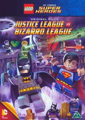 LEGO: Justice League vs. Bizarro League  (DVD) - Klik her for at se billedet i stor størrelse.
