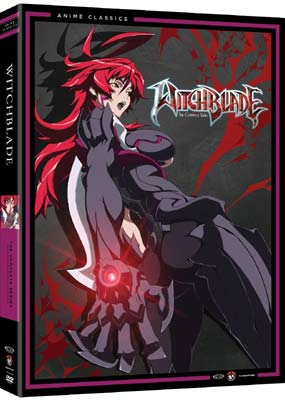 Witchblade:    The Complete Animated      Series (5-disc) (DVD) - Klik her for at se billedet i stor st�rrelse.