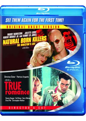 True Romance / Natural Born Killers (Blu-ray) (BD) - Klik her for at se billedet i stor st�rrelse.