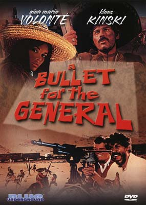 Bullet for the General, A  (DVD) - Klik her for at se billedet i stor størrelse.