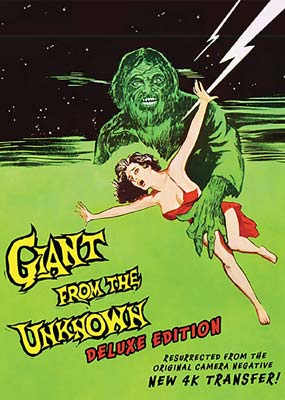 Giant from the Unknown  (DVD) - Klik her for at se billedet i stor størrelse.
