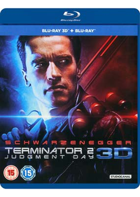 Terminator   2: Judgment Day (New Restoration) (Blu-ray 3D) (BD) - Klik her for at se billedet i stor størrelse.