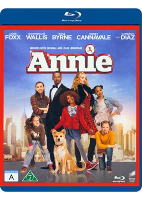 Annie (Jamie   Foxx) (Blu-ray) (BD) - Klik her for at se billedet i stor størrelse.