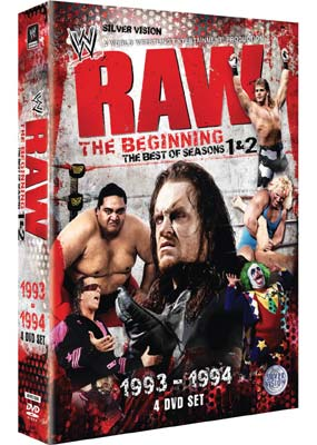 Raw The Beginning Season 1 And 2  (DVD) - Klik her for at se billedet i stor størrelse.