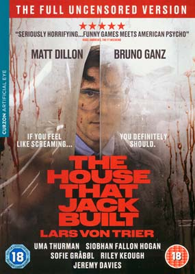 House That Jack Built, The (Lars von Trier)  (DVD) - Klik her for at se billedet i stor størrelse.
