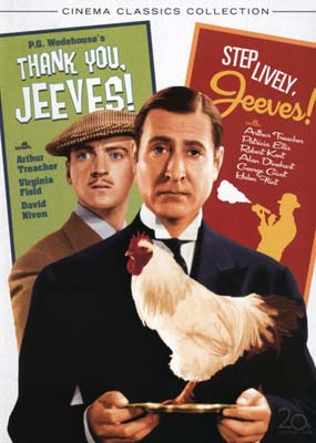Jeeves Collection (2 film) (DVD) - Klik her for at se billedet i stor størrelse.