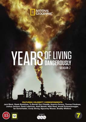 Years of Living Dangerously: Season 2 (3-disc) (DVD) - Klik her for at se billedet i stor størrelse.
