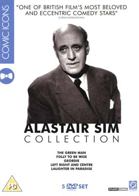 Alastair Sim Collection (5 film) (DVD) - Klik her for at se billedet i stor st�rrelse.