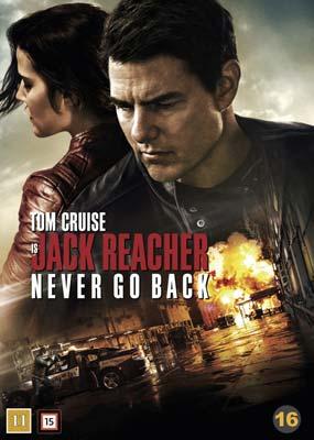 Jack Reacher: Never Go Back  (DVD) - Klik her for at se billedet i stor størrelse.