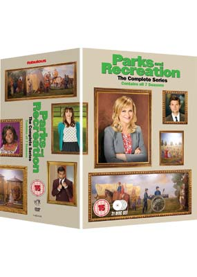 Parks and  Recreation: Complete Series (21-disc) (DVD) - Klik her for at se billedet i stor størrelse.