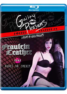 Guilty Pleasures #1: Fraulein Leather & Nudes on Credit (Blu-ray) (BD) - Klik her for at se billedet i stor størrelse.