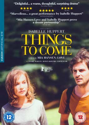 Things to Come (Isabelle  Huppert)  (DVD) - Klik her for at se billedet i stor størrelse.