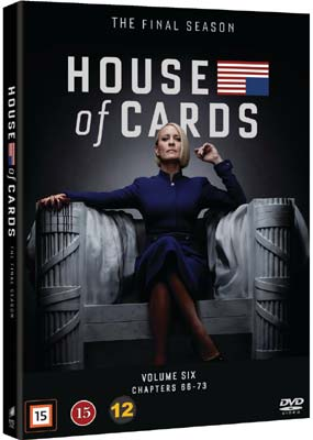 House of Cards:   Season   6 - Final Season (3-disc) (DVD) - Klik her for at se billedet i stor størrelse.