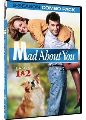 Mad About You:  Seasons 1 & 2 (4-disc) (DVD) - Klik her for at se billedet i stor størrelse.