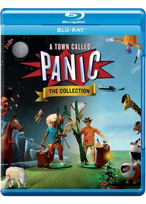 Town Called Panic, A: The Collection (Blu-ray) (BD) - Klik her for at se billedet i stor størrelse.