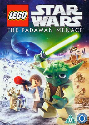 LEGO Star Wars: The Padawan   Menace  (DVD) - Klik her for at se billedet i stor st�rrelse.