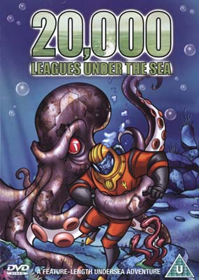 20,000 Leagues under the Sea (Animation)  (DVD) - Klik her for at se billedet i stor st�rrelse.