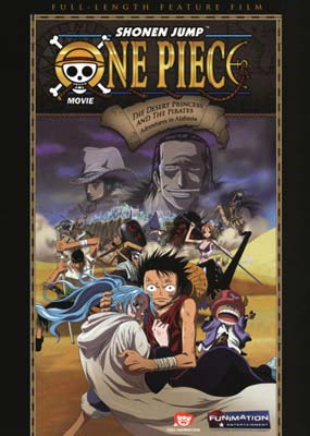 One Piece: The Desert Princess and the Pirates (2007)  (DVD) - Klik her for at se billedet i stor st�rrelse.