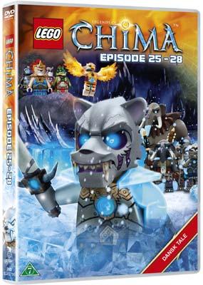 LEGO: Legends of Chima - Episode 25-28  (DVD) - Klik her for at se billedet i stor størrelse.