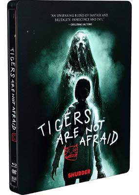 Tigers Are Not Afraid: Steelbook (Blu-ray & DVD) (BD) - Klik her for at se billedet i stor størrelse.